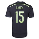 Spain 2014 RAMOS Authentic Away Soccer Jersey
