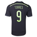 Spain 2014 TORRES Authentic Away Soccer Jersey