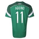 Mexico 2014 AQUINO Authentic Home Soccer Jersey