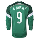 Mexico 2014 R JIMENEZ LS Home Soccer Jersey
