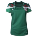 Mexico 2014 Women's Home Soccer Jersey