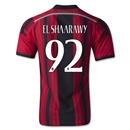 AC Milan 14/15 EL SHAARAWY Authentic Home Soccer Jersey