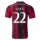 AC Milan 14/15 KAKA Authentic Home Soccer Jersey