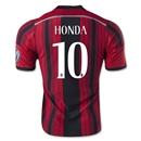AC Milan 14/15 HONDA Alternative Home Soccer Jersey
