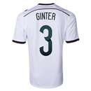 Germany 2014 GINTER Home Soccer Jersey