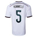 Germany 2014 HUMMELS Home Soccer Jersey