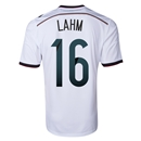 Germany 2014 LAHM Home Soccer Jersey