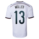 Germany 2014 MULLER Home Soccer Jersey