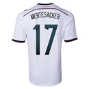 Germany 2014 MERTESACKER Home Soccer Jersey