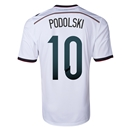Germany 2014 PODOLSKI Home Soccer Jersey