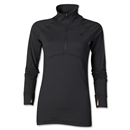 adidas Women's Ultimate Quarter-zip Pullover (Black)