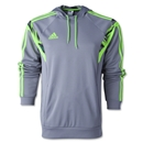 adidas SpeedKick Hoody (Gray/Green)