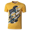 adidas Youth Messi Icon T-Shirt (Orange)