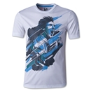 adidas Youth Messi Icon T-Shirt (White)