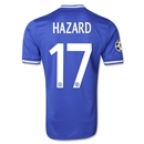 Chelsea 13/14 HAZARD Authentic UCL Home Soccer Jersey