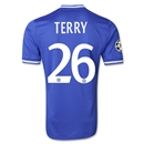 Chelsea 13/14 TERRY Authentic UCL Home Soccer Jersey