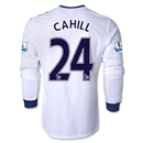 Chelsea 13/14 24 CAHILL LS Away Soccer Jersey