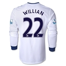 Chelsea 13/14 WILLIAN LS Away Soccer Jersey