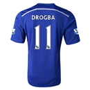 Chelsea 14/15 11 DROGBA Home Soccer Jersey