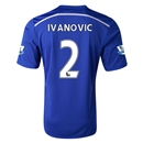 Chelsea 14/15  2 IVANOVIC Home Soccer Jersey
