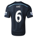 Chelsea 14/15  6 AKE Third Soccer Jersey