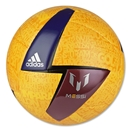 adidas F50 Messi Ball (Solar Gold/Amazon Purple)