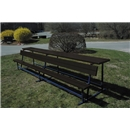 Goal Sporting Goods Bench w/ Shelf-Powder Coated (Black)