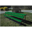 Goal Sporting Goods Bench w/ Shelf-Powder Coated (Green)
