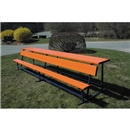 Goal Sporting Goods Bench w/ Shelf-Powder Coated (Orange)