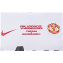MUFC UCL 2011 Final Embroidery