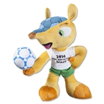 2014 FIFA World Cup Brazil(TM) Fuleco 35cm Plush Mascot