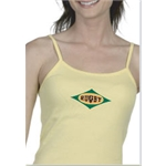 Rugby Logo Tank Top Women's (Yellow)