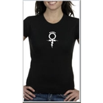 Rugby Sign Women's T-Shirt (Black)