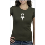 Rugby Sign Women's T-Shirt (Olive)