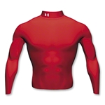 Under Armour Cold Gear Mock (red)