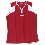 Xara Women's Preston Sleeveless Soccer Jersey (Sc/Wh)
