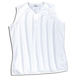 Xara Women's Preston Sleeveless Soccer Jersey (White)