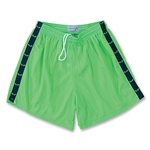 Yale Women's 5 Mesh Lacrosse Sticks Ribbon Short (Lime/Lacrosse Lime Green Sticks)
