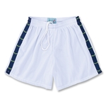 Yale Women's 5 Mesh Lacrosse Sticks Ribbon Short (White/Lime)