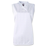 Vici Women's Sleeveless Turin Soccer Jersey (White)
