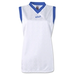 Vici Women's Sleeveless Turin Soccer Jersey (Wh/Ro)