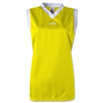 Vici Women's Sleeveless Turin Soccer Jersey (Yellow)