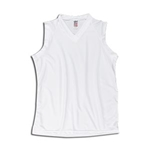 Vici Kool Knit Women's Sleeveless Soccer Jersey (White)