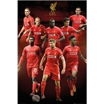 Liverpool Collage Poster