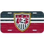 USA License Plate-Shield Only