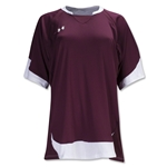 Under Armour Emulate Women's Soccer Jersey (Maroon/Wht)