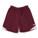 Under Armour Emulate Soccer Shorts (Maroon/Wht)