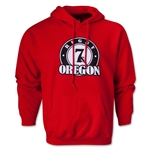 Rugby Oregon 7's Hoody (Red)