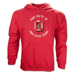 Property of Ohio State Rugby Hoodie (Red)