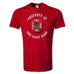 Property of Ohio State Rugby T-Shirt (Red)